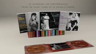 The Maria Callas Live box set: Remastered Live Recordings 1949-64
