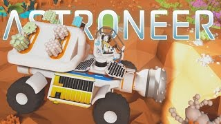 Astroneer - Ep. 4 - Research and Epic Mining Truck! - Let's Play Astroneer Gameplay Pre-Alpha