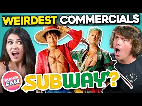 Adults React To Commercials That Make No Sense Guessing The Product