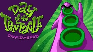 Basic Game Review - Maniac Mansion Day of the Tentacle Remastered