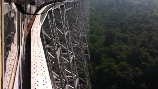 Burma train crossing Gokteik Viaduct
