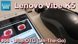 Lenovo Vibe K5 Brasil - Antutu Benchmark  + USB OTG - Português