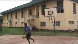 6ft7 Ilerioluwa workout video
