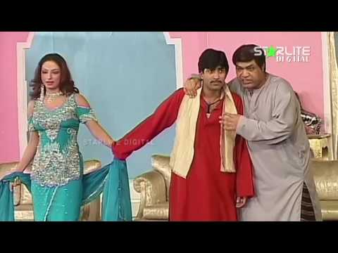 Sajan Abbas, Naseem Vicky and Tahir Noushad New Pakistani Stage Drama Full Comedy Clip