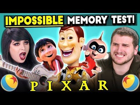 The Impossible Pixar Memory Test Too Much Information