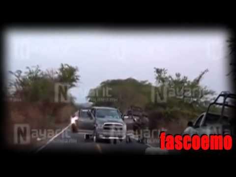 Sicarios del Chapo son emboscados por Zetas en Nayarit 29 muertos