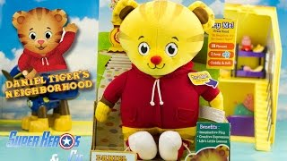 Le village de Dany peluche de Dany le tigre en français Daniel Tiger's neighborhood plush