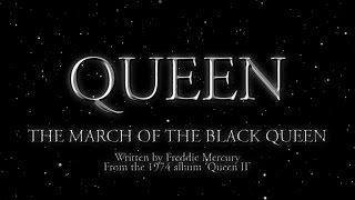Queen - The March of The Black Queen (Official Lyric Video)