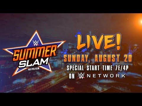 Watch SummerSlam 2017 - Aug. 20 on WWE Network