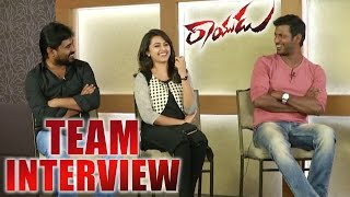 Rayudu Team Latest Interview || Vishal || Sri Divya || Soori || 2016 Telugu Movie