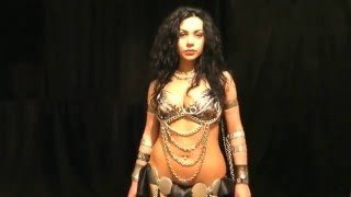 Diana Bastet Metal Belly Dance. Melechesh