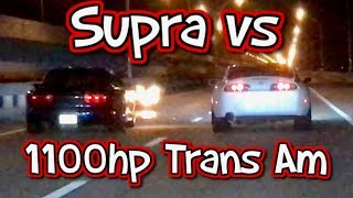 1100hp Trans AM Calls Out The Supra