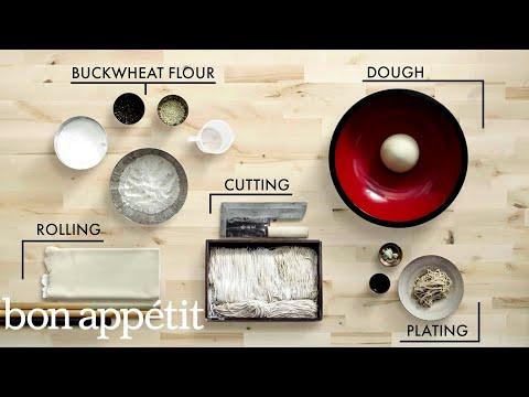 How to Make Handmade Soba Noodles Handcrafted Bon Appétit