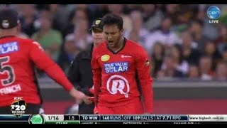 Unplayable delivery by Shakib  to cameron white in big bash