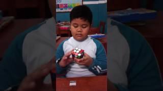 Master of Rubik in Grade 1 Al Bayan Islamic School 2016/2017
