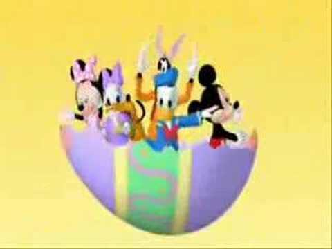 Mickey mouse llego la primavera SchoolRumble