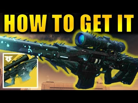 Xxx Mp4 Destiny 2 How To Get The BLACK SPINDLE Whisper Of The Worm Exotic Sniper Rifle 3gp Sex