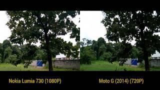 Nokia Lumia 730 vs Moto G (2014)- Camera Comparison