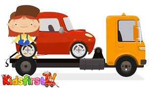 Doc McWheelie: Cartoon Car Doctor - TOW TRUCK BREAKDOWN - Car Repairs Kid