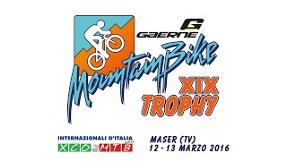 19° Gaerne Mountain Bike Trophy - #RideWithUs