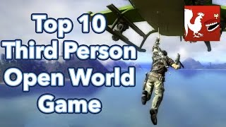 Countdown - Top 10 Third Person Open World Game Series | Rooster Teeth