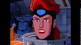 Jean Grey Power Displays - X-Men Animated Series