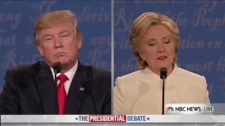 3rd Presidential Debate - Hillary gets caught! Fed answers!