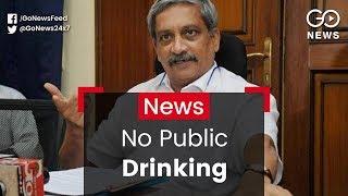 Goa Will Ban Public Drinking