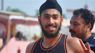 JUNIOR BOY'S  100m RUN FINAL. 16th FED CUP NATIONAL JR ATHLETICS CHAMPIONSHIPS 2018