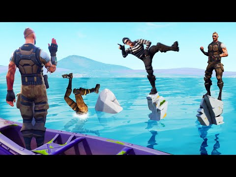Simon Says DANCE But DON'T Fall Off Fortnite