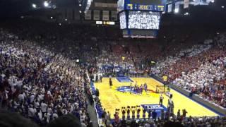Kentucky at Kansas: Tipoff Video