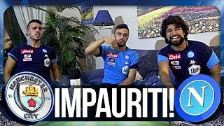 MANCHESTER CITY 2-1 NAPOLI | IMPAURITI! REAZIONE NAPOLETANI HD CHAMPIONS LEAGUE