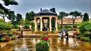 The best tourist attraction places of Shiraz in Iran.