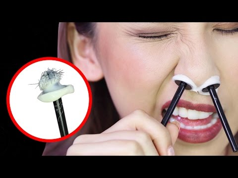 BRAZILIAN WAX FOR YOUR NOSE?! - TINA TRIES IT