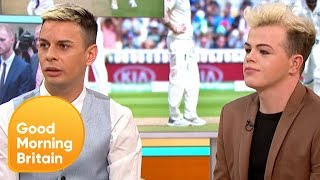 Gay Couple Thank Ben Stokes for Defending Them After Homophobic Abuse | Good Morning Britain
