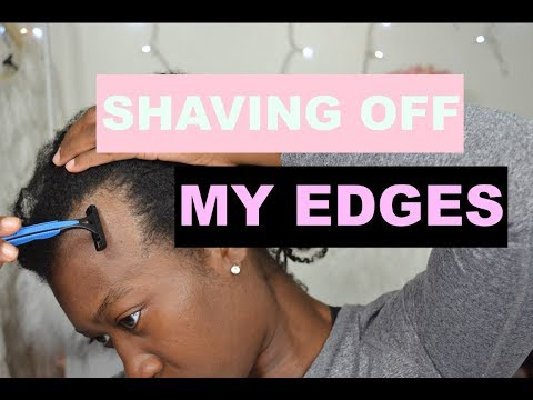 Xxx Mp4 Shaving Off My Edges To Grow Them Back Fuller And Thicker Traction Alopecia Grow Edges Back 1 3gp Sex