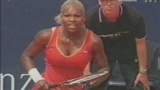 Serena Williams bouncing boobs