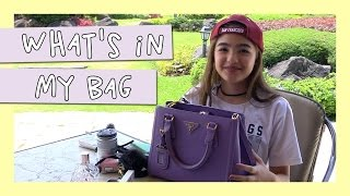 What's In My Bag   Andrea B.