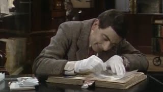 Library | Special Episode | Classic Mr.Bean