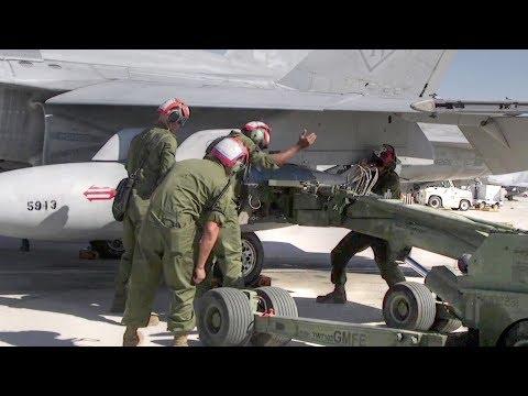 F/A-18 Hornet Ordnance Hot Load Training