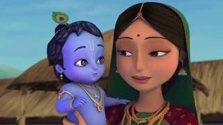 Little Krishna   The Darling of Vrindavan Hindi   Cartoon Movie