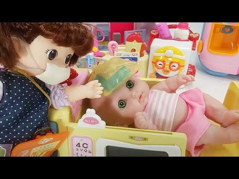 Xxx Mp4 Baby Doll Spider Bitten And Ambulance Doctor Hospital Toys Pororo Play 토이몽 3gp Sex