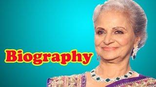 Waheeda Rehman - Biography