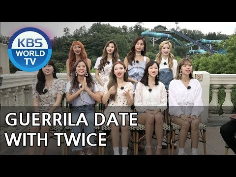 Guerrila Date with TWICE [Entertainment Weekly2018.07.16]