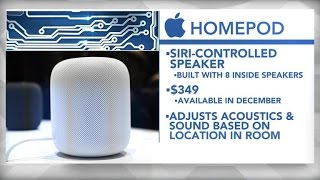 Apple unveils Siri-controlled speaker at annual conference