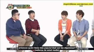 130501 Weekly Idol - Infinite Ep 1 3/4 (sub español) HD