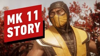 Mortal Kombat 11 Full Movie (All Cutscenes In 4K)