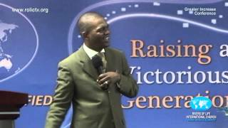 Apostle J Sithole  - When God is your source (ROLIC - Greater Increase Conference)