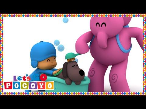 Let s Go Pocoyo Bathing Loula Episode 19 in HD