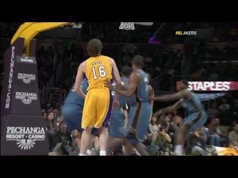#21 vs Washington Wizards - Pau Gasol Video Project 2011